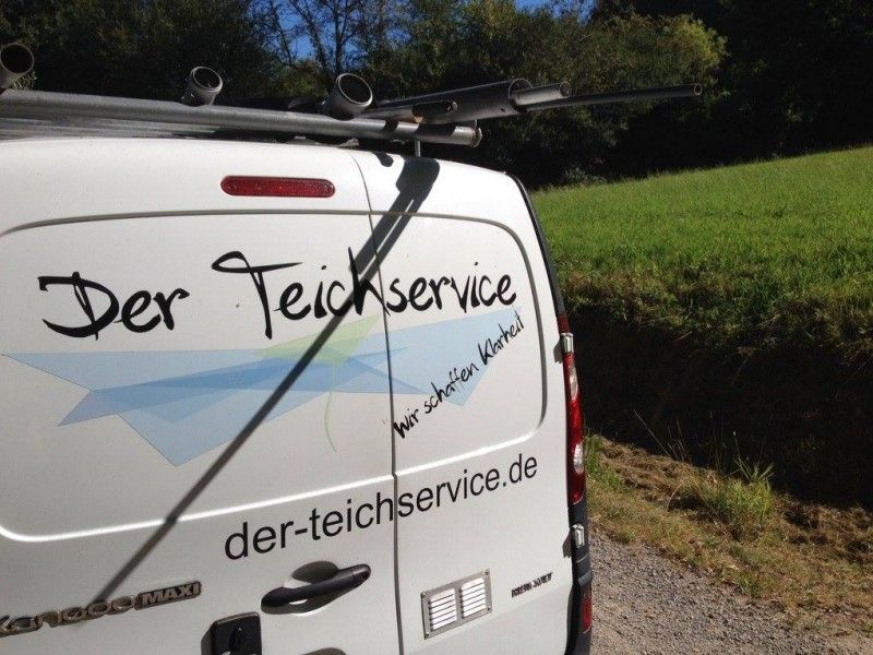 Der Teichservice on Tour